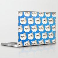 kirby Laptop & iPad Skins featuring Kirby Littledumdums by EggsBFF