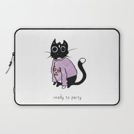 Ready to Party Laptop Sleeve