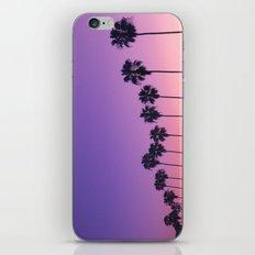 Palm Sunset iPhone & iPod Skin