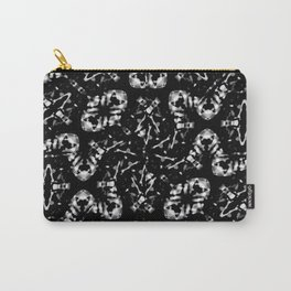 Dark Modern Abstract Pattern Carry-All Pouch
