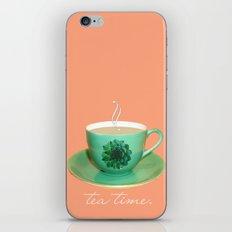 Tea Time iPhone & iPod Skin