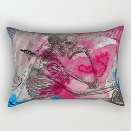 Vesalius Memento Mori Rectangular Pillow