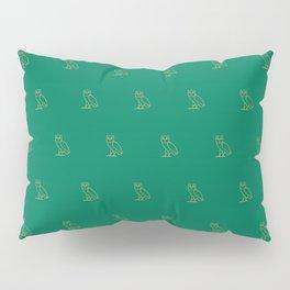 Classic Owl - Grass Pillow Sham