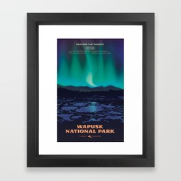 Wapusk National Park Poster Framed Art Print