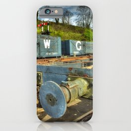 Conflat Wagon iPhone Case