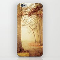 eddie vedder iPhone & iPod Skins featuring I Heard Whispering in the Woods by Olivia Joy StClaire