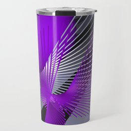 3D - abstraction -124- Travel Mug