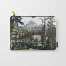 Alpine Lake.Oregon.Ice Lake.Wallowas.Forest.Evergreen.PNW.Mountain. Carry-All Pouch
