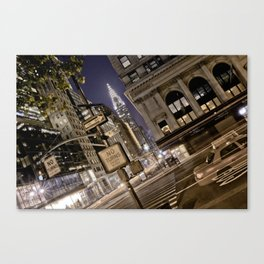 Chrysler Building - New York Artwork / Photography Canvas Print