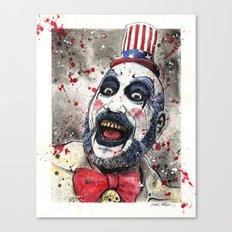 Captain Spaulding -The Devil's Rejects Canvas Print