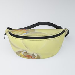 "A series of ""Favorite pillows """"Yellow Orchid"" Fanny Pack"