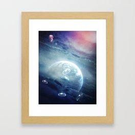 JellyLand Framed Art Print