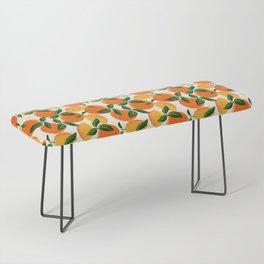 Oranges and Lemons Bench