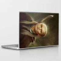legolas Laptop & iPad Skins featuring Legolas by taryndraws2