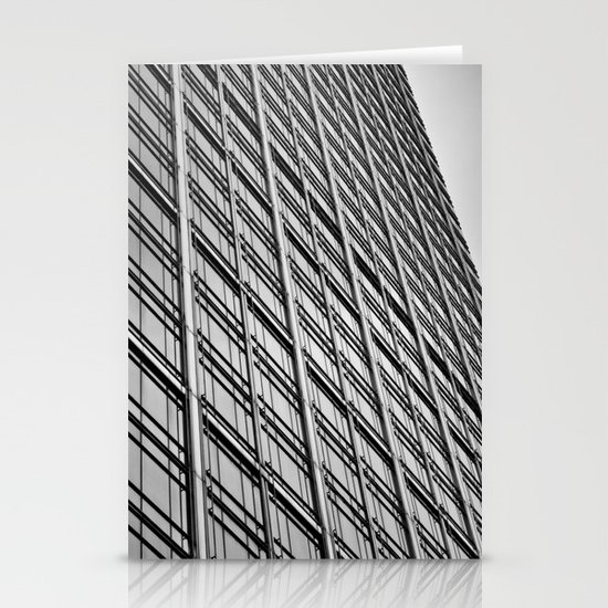 Skyscraper Abstract Stationery Cards