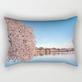 Washington DC Cherry Blossoms Rectangular Pillow