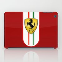 ferrari iPad Cases featuring FERRARI by Smart Friend