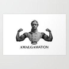Amalgamation #1 Art Print