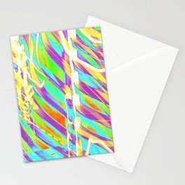Light Dance Candy Ribs edit1 Stationery Cards