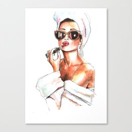 Fashion Lady Canvas Print