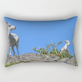 Ewe and Lamb Rectangular Pillow