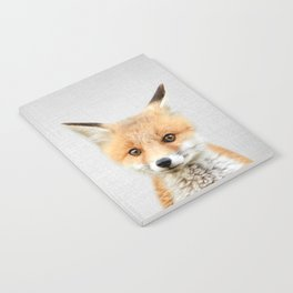 Baby Fox - Colorful Notebook