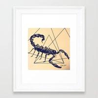 pi Framed Art Prints featuring pI by Marc Verdugo. Illustration