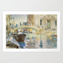 John Singer Sargent - San Giuseppe Di Castello, Venice Art Print