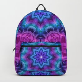 Floral Abstract G269 Backpack