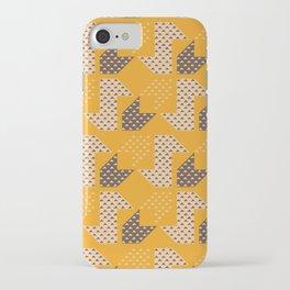 Clover&Nessie  Mandarin/Mocha iPhone Case