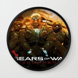 Gears Of War 15 Wall Clock