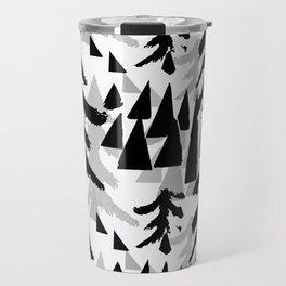 Pine Tree Shadows by Lorloves Design Travel Mug