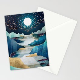 Moon Glow Stationery Cards