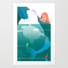 Illustre Conero - the Older Sister Art Print