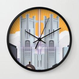 Insomnia (Final Fantasy XV) Travel Poster Wall Clock