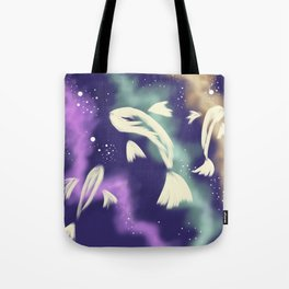 Star Catching Fish Tote Bag