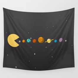 Pac Man Wall Tapestry