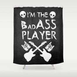 BadASS Player Shower Curtain