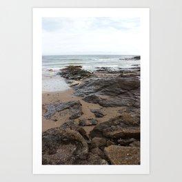 The Coast of Malahide Art Print