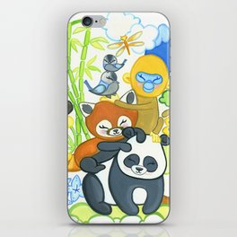 Bamboo Bunch iPhone Skin