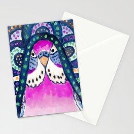 Aboriginal Budgie Stationery Cards