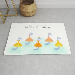 Waltz of the FloWorms Rug