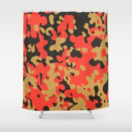 CAMO05 Shower Curtain