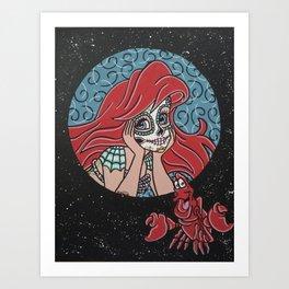 Ariel and Sebastion Art Print