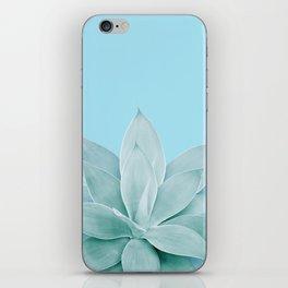 Light Blue Agave #1 #tropical #decor #art #society6 iPhone Skin