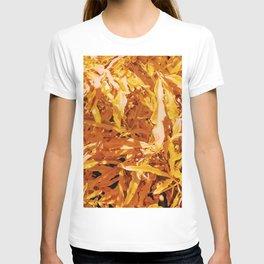 Yellow Garden Flowers T-shirt