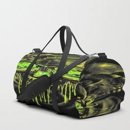 Glossy Yella Skeletons Duffle Bag