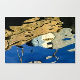 Water Painting Canvas Print