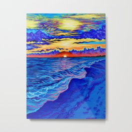 Panama City Beach, FL Metal Print