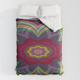 Uppermost Consumerism Mandala 2 Comforters